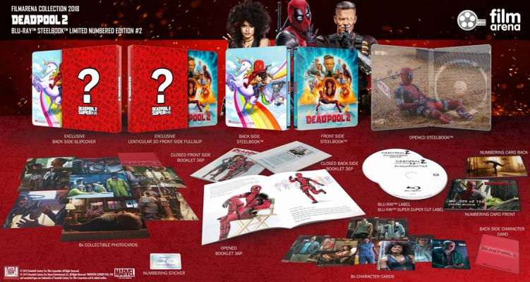 FAC 107 - Deadpool 2 - Edition 2 Lenticular Slip Steelbook