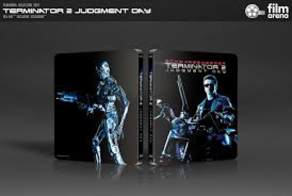 "FAC 110 - Terminator 2: Judgement Day Edition 4 - J-Card Steelbook 4K + 3D + 2D ""Glow in the Dark Edition"""