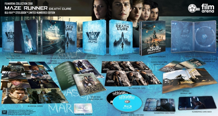 FAC 99 - Maze Runner: The Death Cure UHD XL Fullslip + Lenticular Magnet