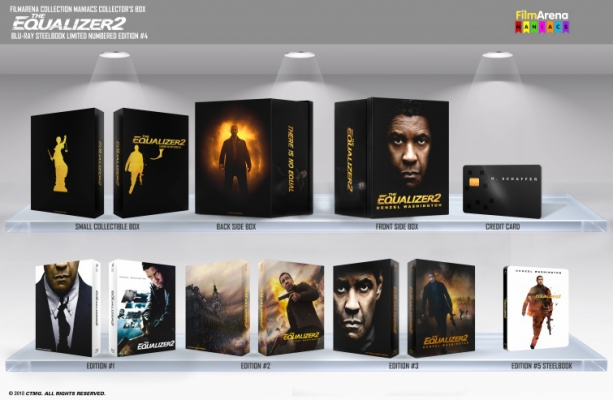 FAC 111 - The Equalizer 2 - Edition 4 - Maniac Box incl. E1 + E2 + E3 + E5B