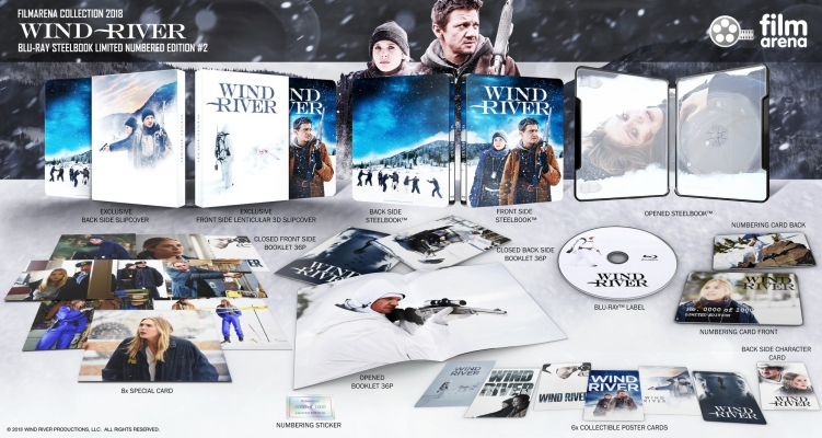 HD-FilmPortal Wind River Lenticularslip Steelbook Filmarena Collection