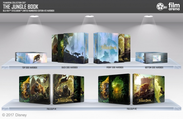 FAC 71 The jungle Book 3D + 2D  Edition 3 Hardbox