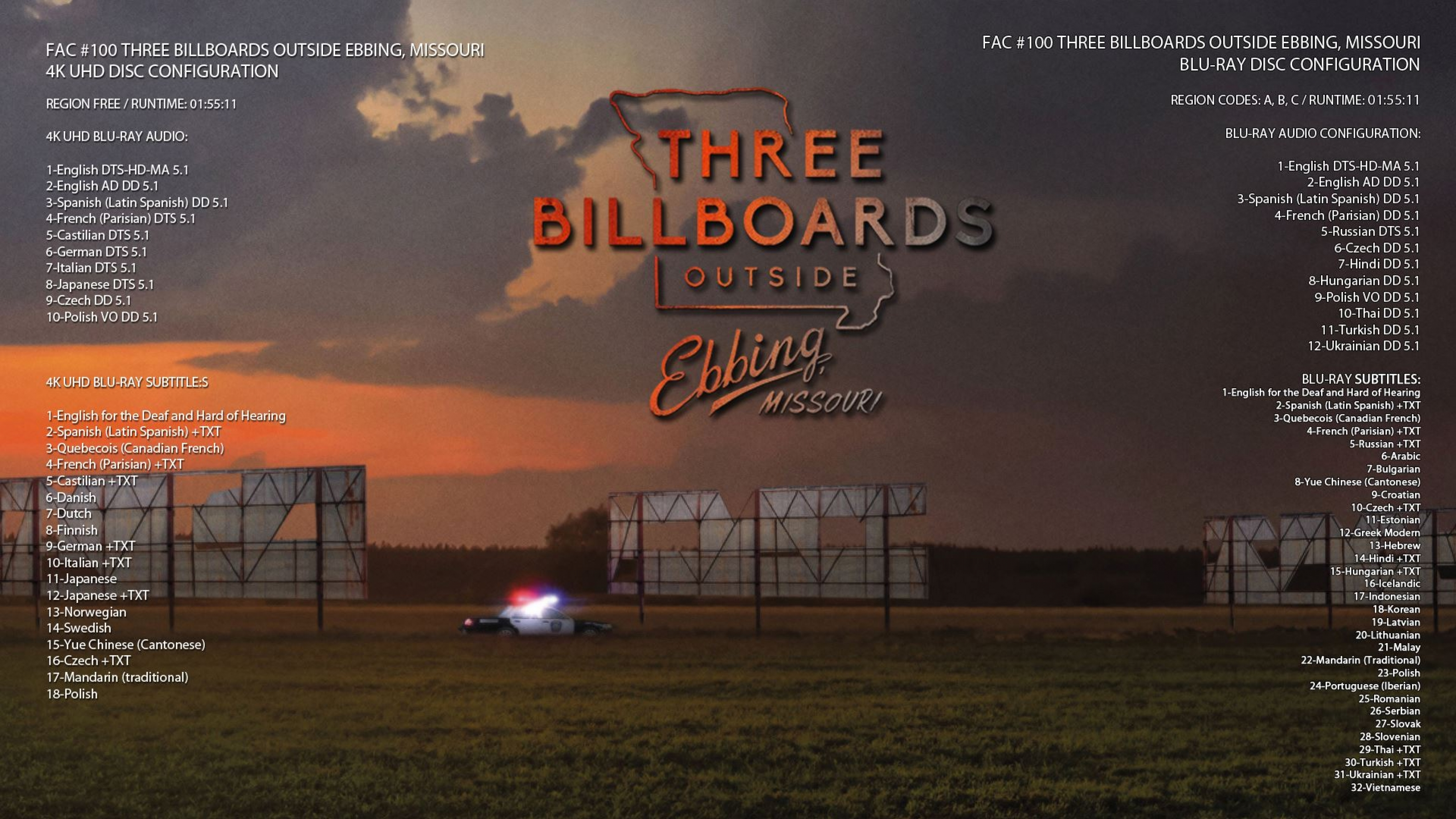 HD-FilmPortal 3 Billboards outside Ebbing, Missouri UHD FAC 100 Fullslip Language