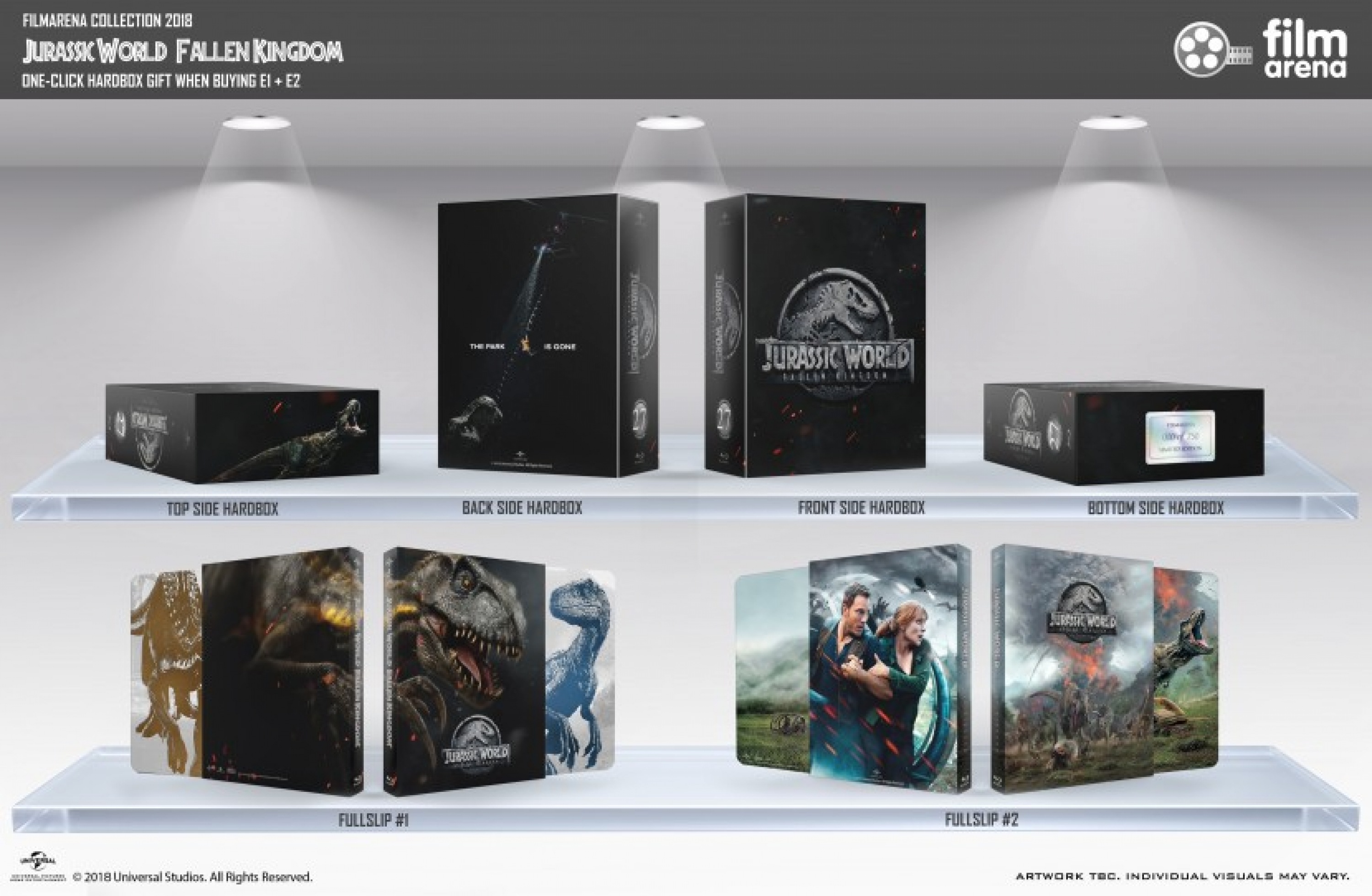 HD-Filmportal Jurassic World 2 Hardbox FAC 106E3