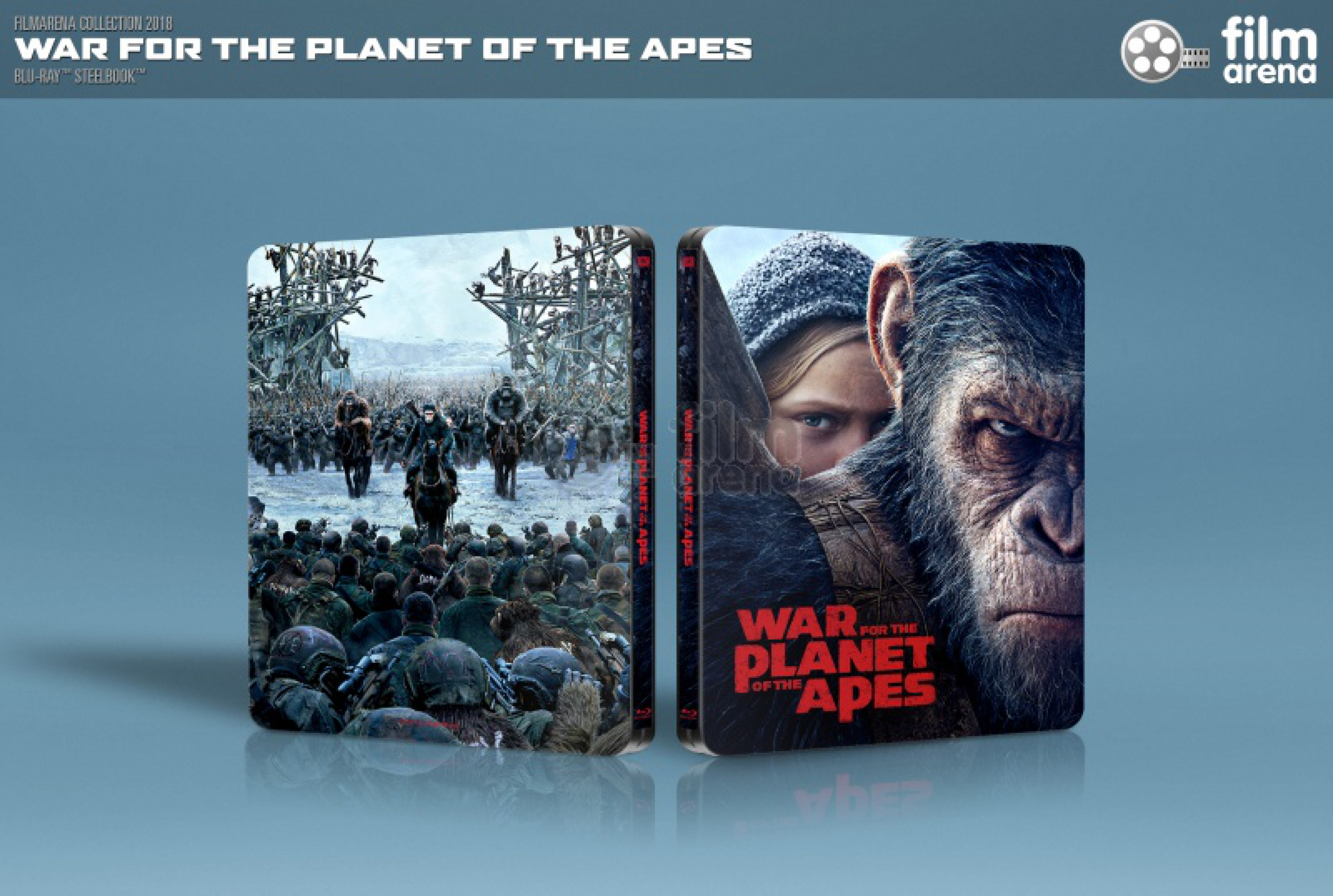 Planet der Affen Survival  3D HD-Filmportal Edition 5 FAC unnumbered
