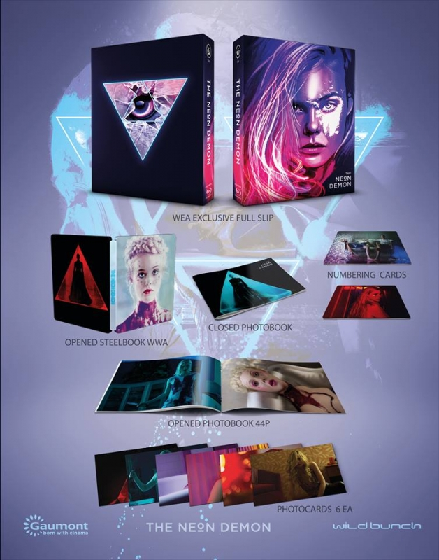 HD Filmportal neon demon Steelbook  Steelarchive